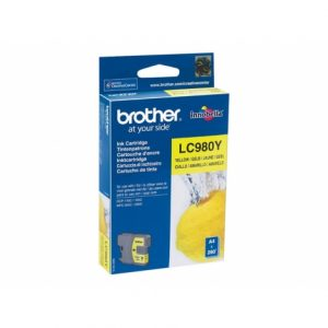 cartucho-brother-lc980y-yellow-145-165c-250c-290c